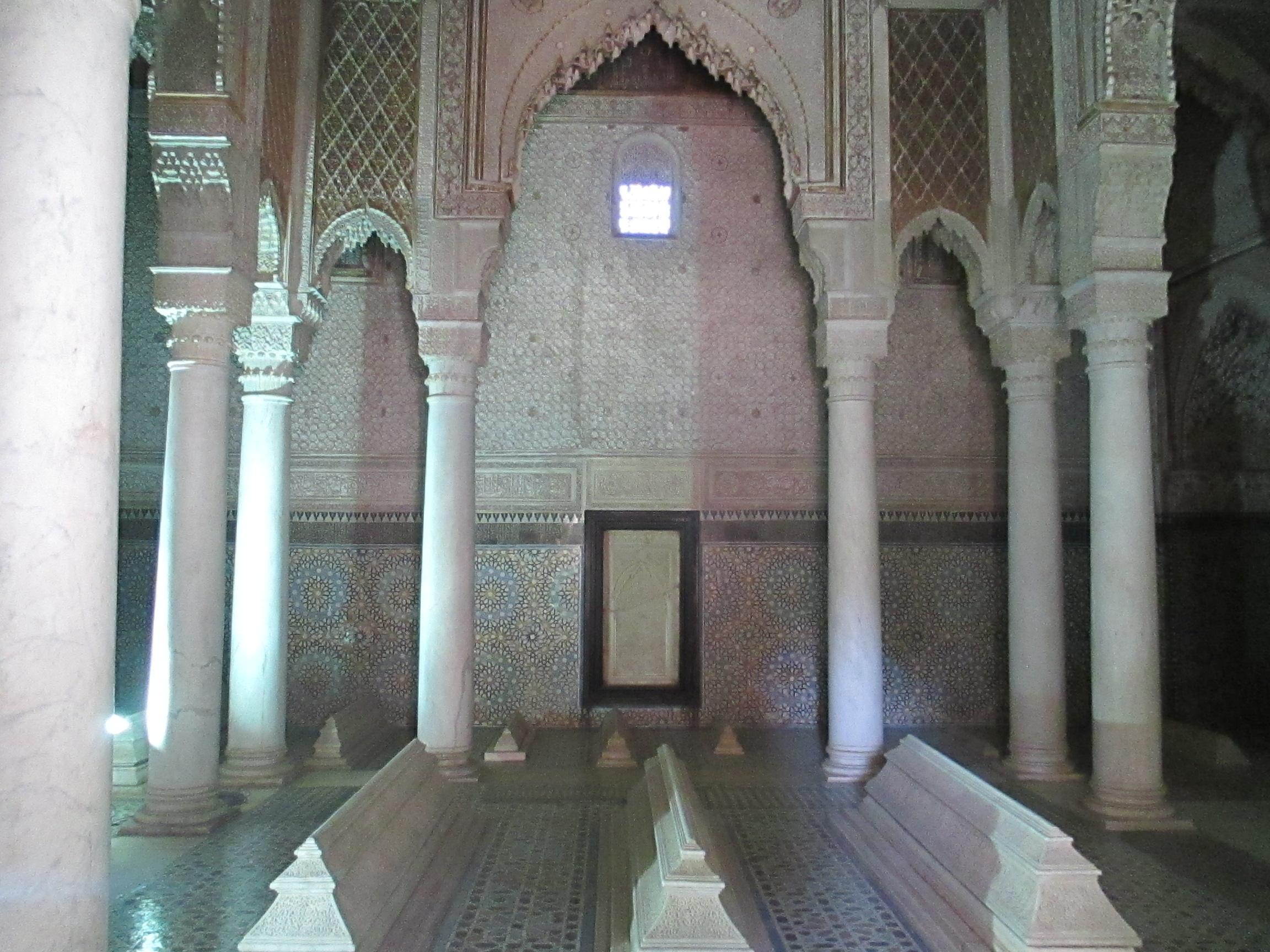 Saadier Gräber, Marrakesch