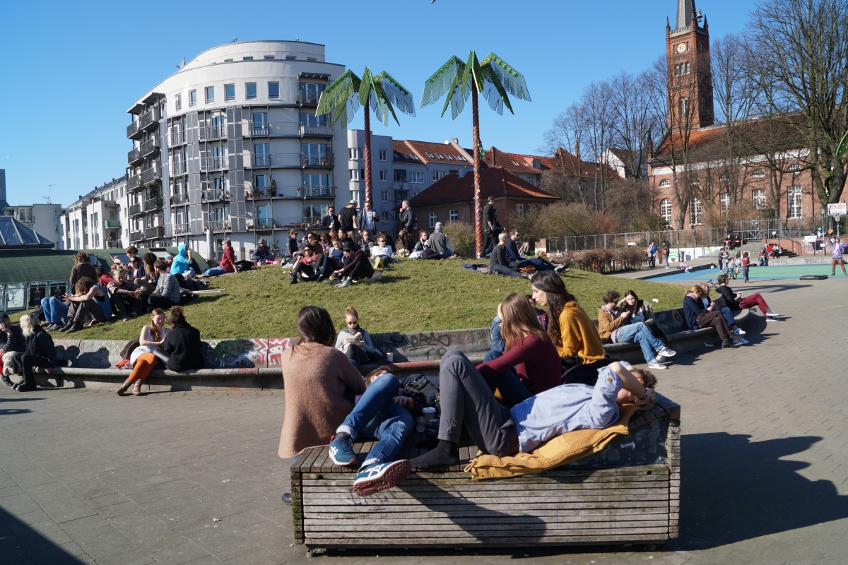 Chillen im Park Fiction