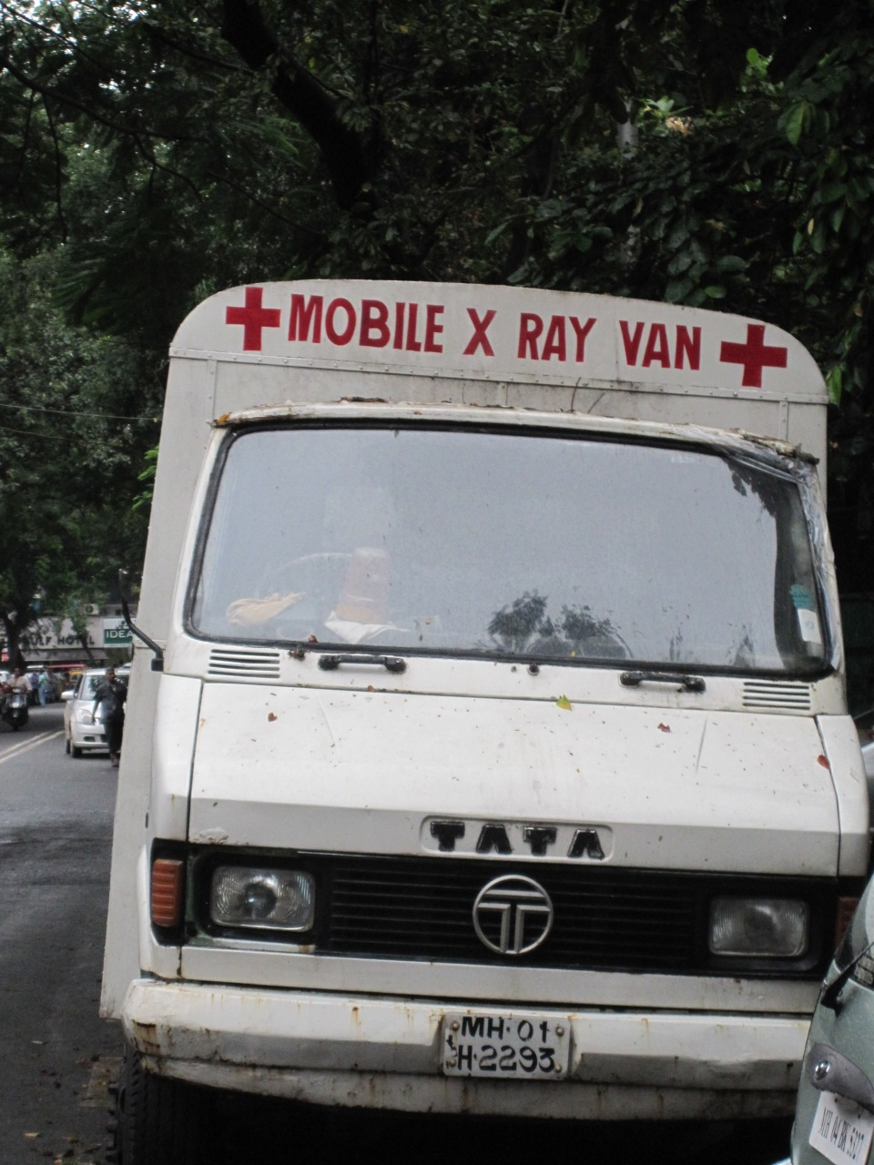 Mobile X Ray Van
