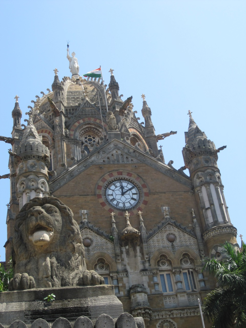Chhatrapati Shivaji Terminus (CST), formerly known as Victoria Terminus
