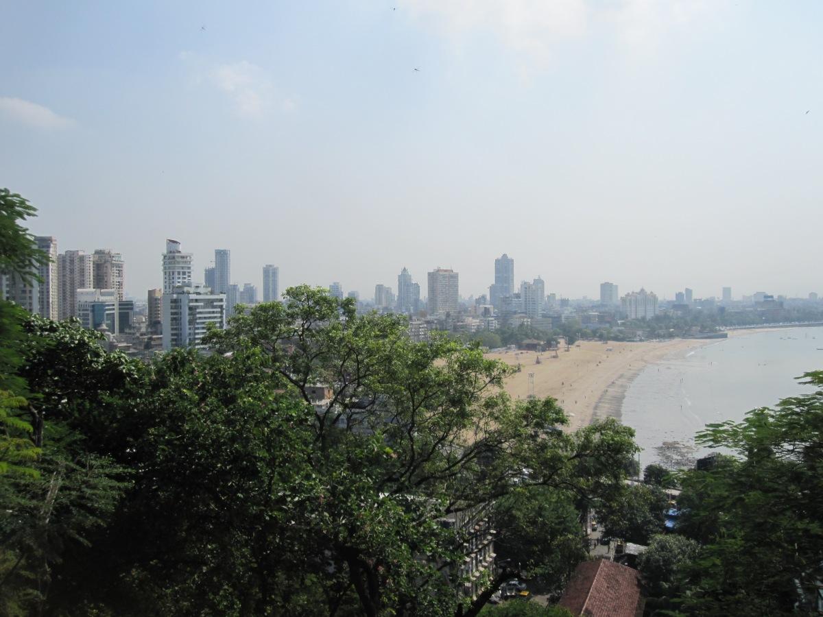 Malabar Hill, Blick auf Chowpatty Beach