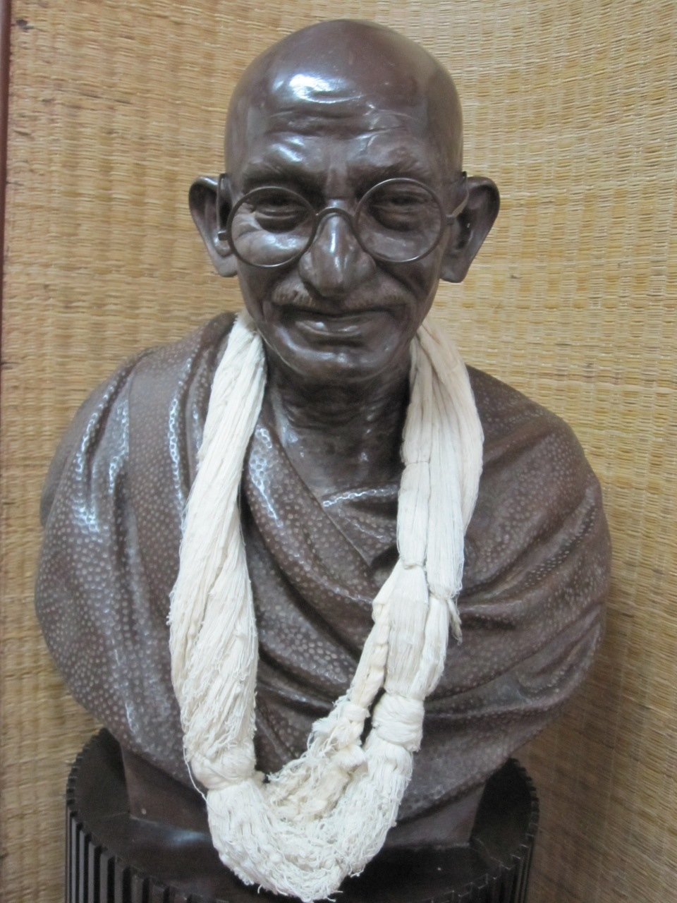 Gandhi Skulptur, Mani Bhavan