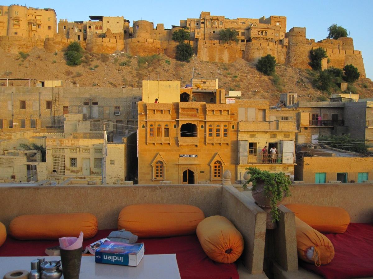 Jaisalmer, Blick auf das Fort