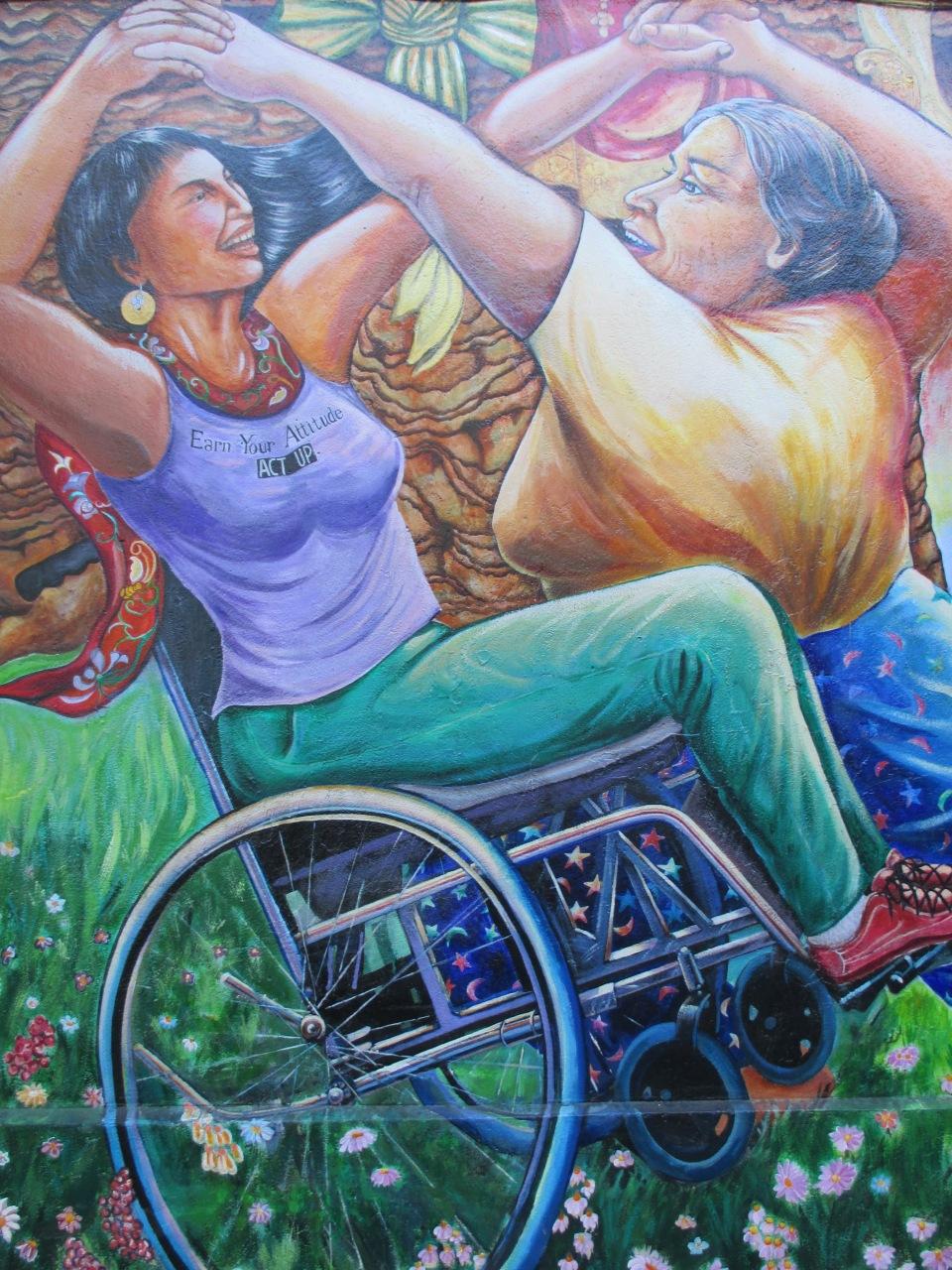 Mural, Women's building