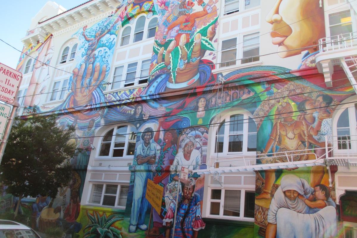 Murals, Women's building