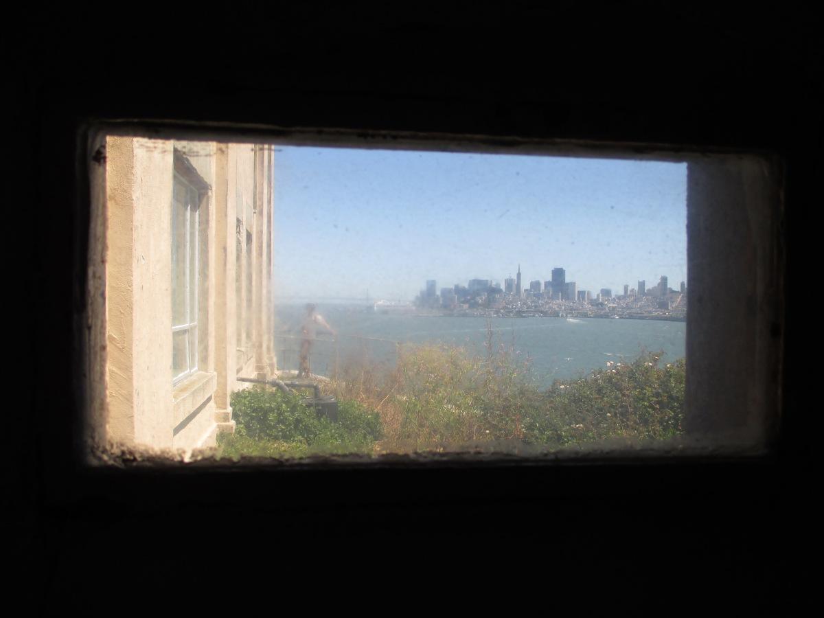 Alcatraz, Blick auf die Stadt