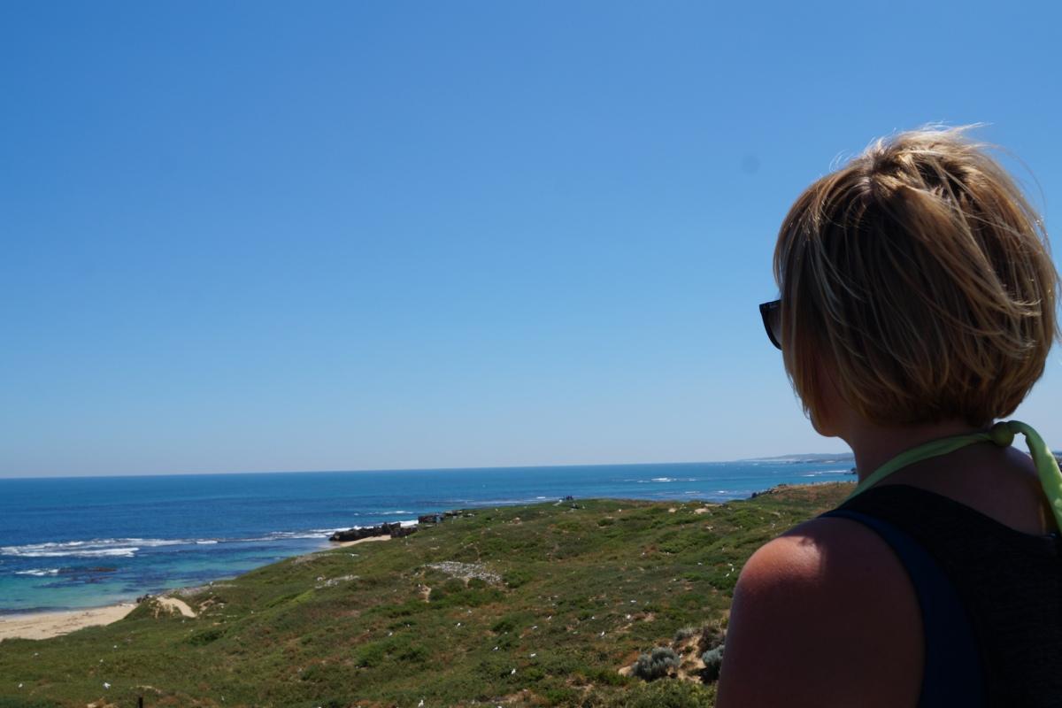 Atmen. Atmen und einfach spüren, dass man lebt. Australien macht es mir leicht.