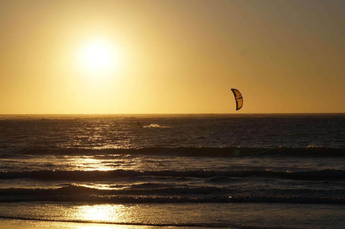 Kitesurfer, Geraldton
