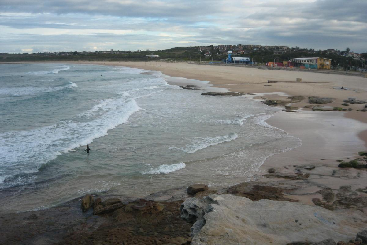 Maroubra beach from North End