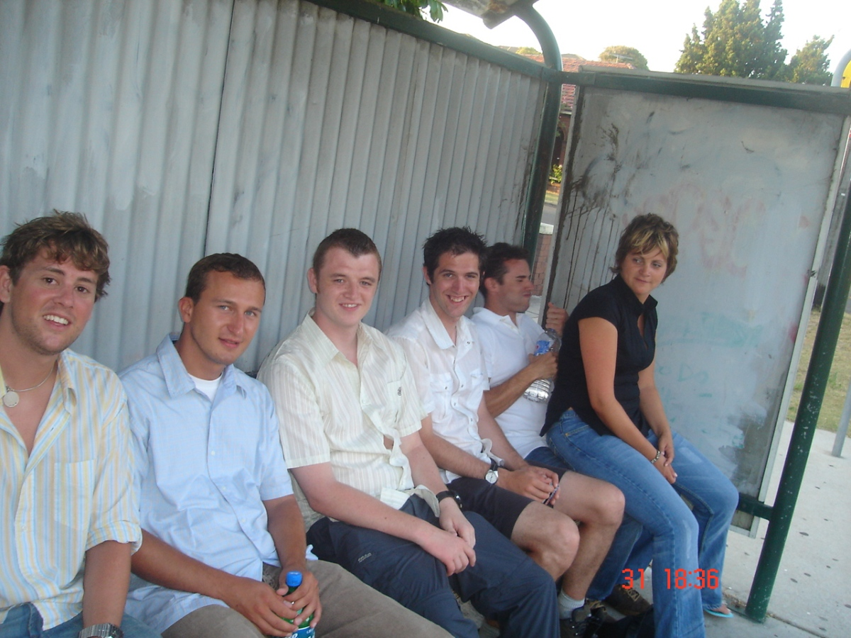Ryan, Marek, Marc, Tom, Luke, me
