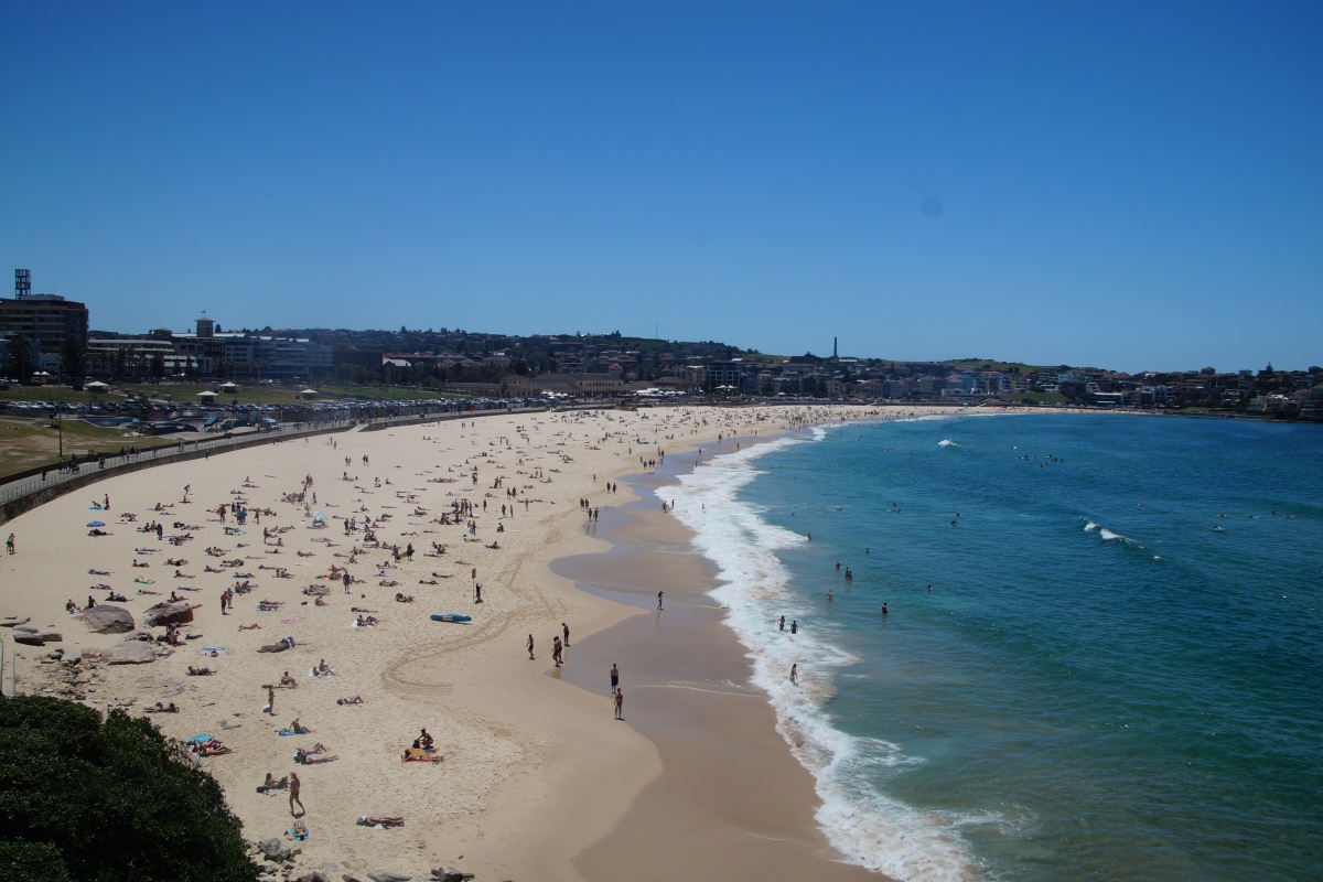 Bondi Beach vom Südende