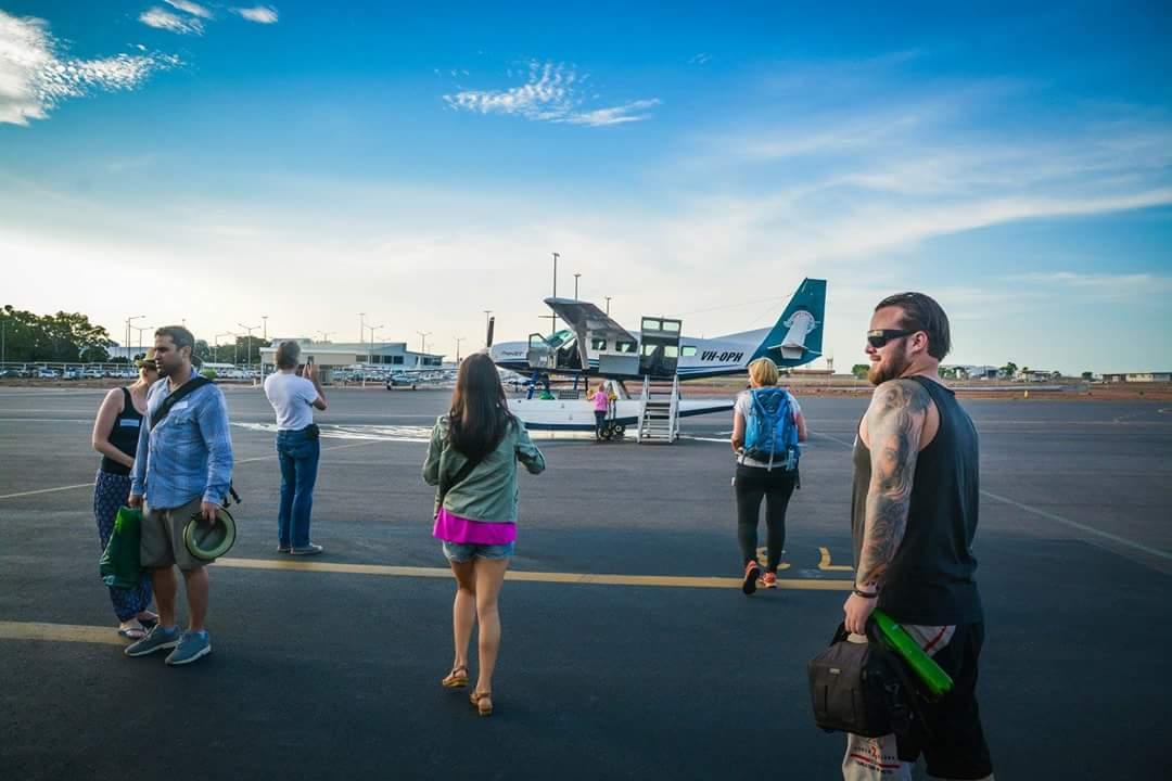 Floatplane - Boarding