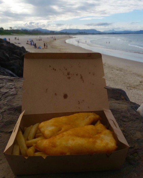 Fish and Chips Byron