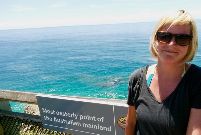 Am östlichsten Punkt des australischen Festlands