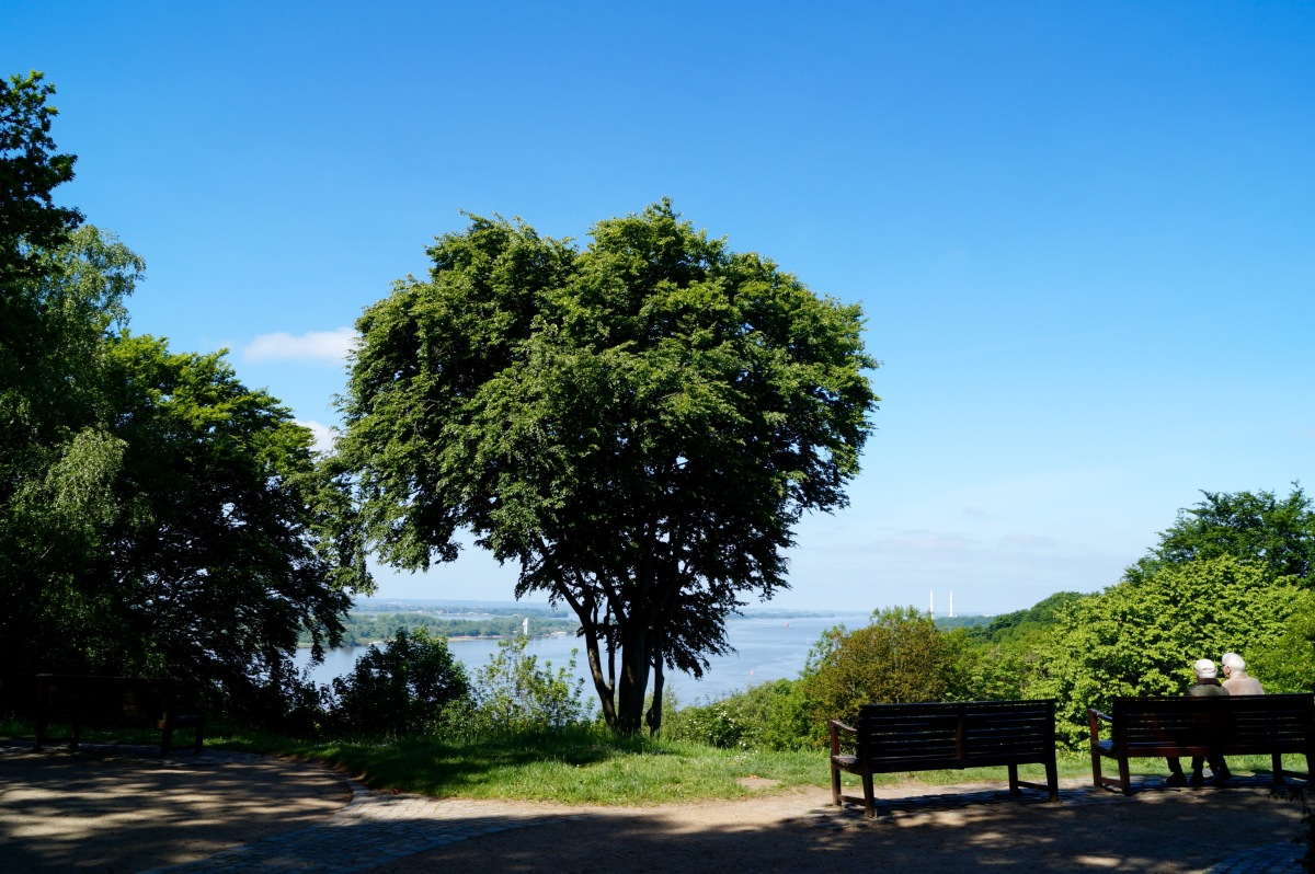 Ausblick vom Bismarckstein