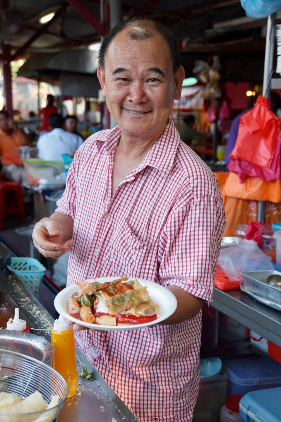 Streetfood auf dem Imbi Market