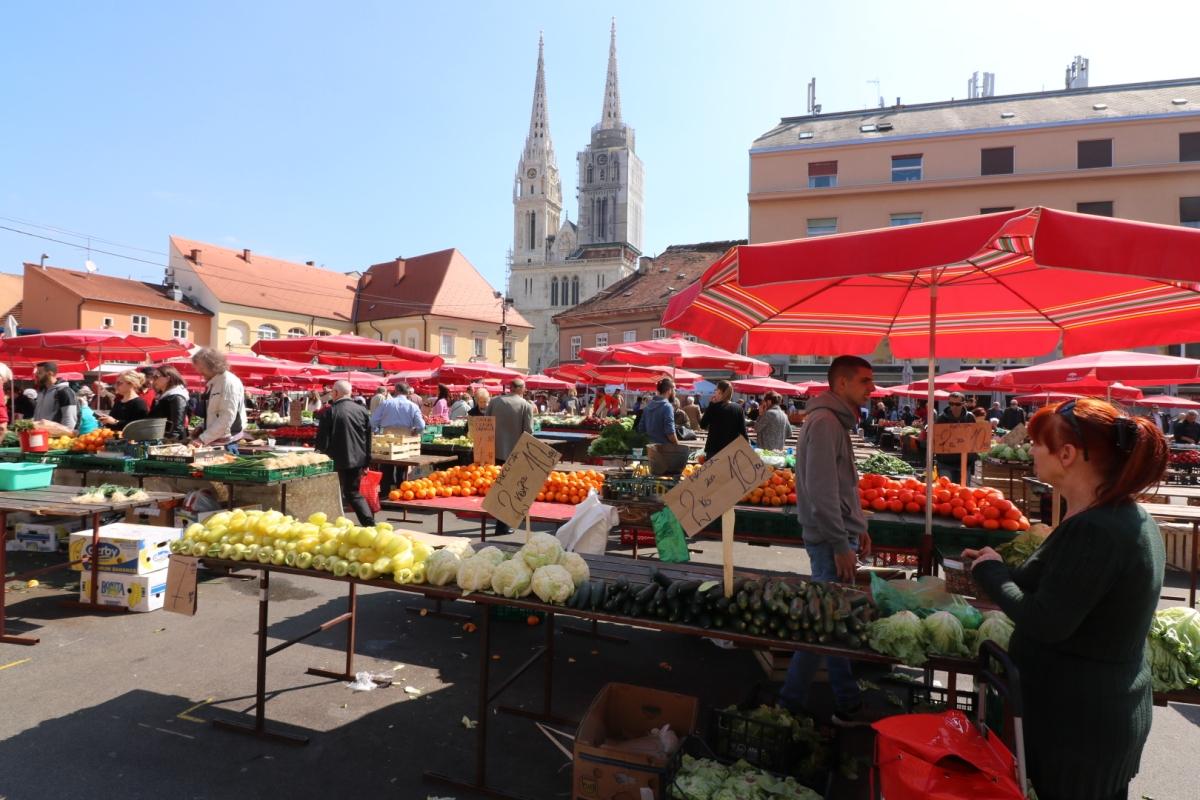 Dolac Markt, Zagreb