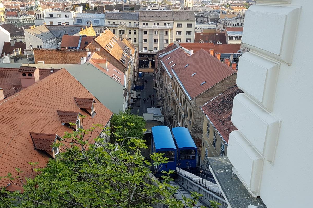 Seilbahn in Zagreb