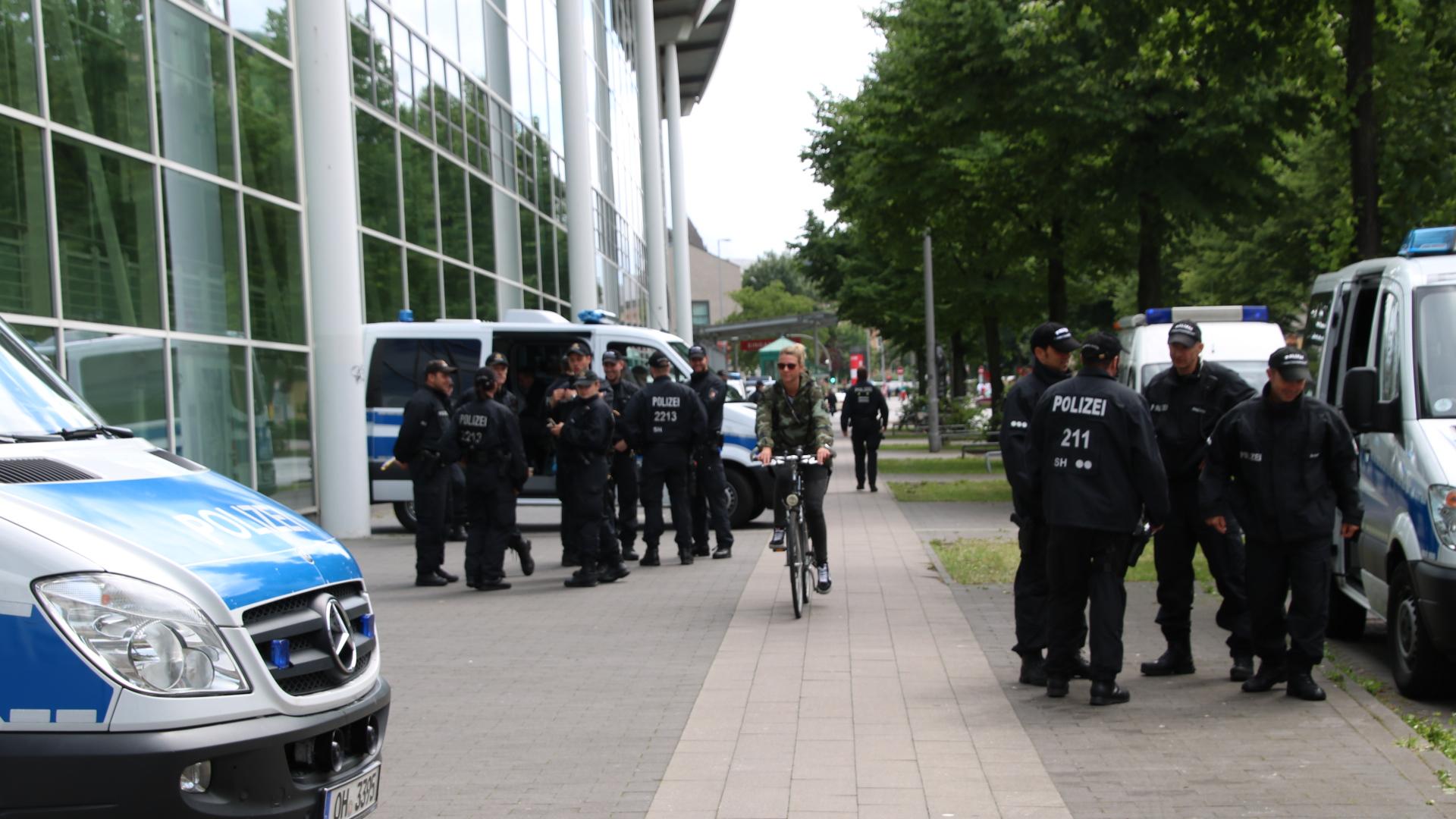 G20 viel Polizei