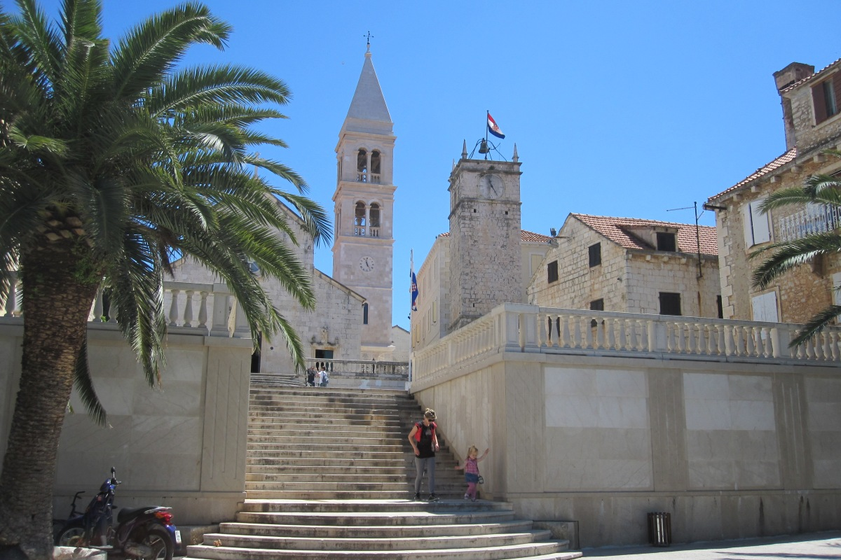 Kirche, Supetar, Kroatien