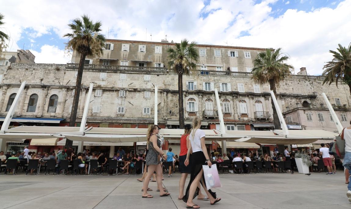 Promenade, Split, Kroatien